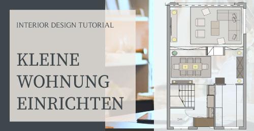 Kleine Wohnung optimal einrichten Einrichtungsideen kleine Wohnung Raumaufteilung Perfekte Grundrissplanung