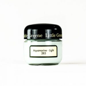 Little Greene Wandfarbe Tester Aquamarine Light 283