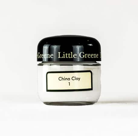 Little Greene Wandfarbe Tester China Clay 1 Farbe Weiß Weiss