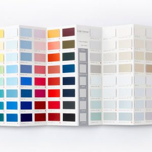 Bunt Farben Karte Wandfarbe