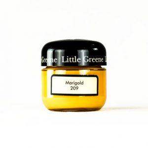 Little Greene Wandfarbe Tester Marigold 209 Farbe Wandfarbe Orange