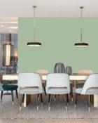 Little Greene Wandfarbe Aquamarine 138 Hellgrüne Wandfarbe Kalte Wandfarbe Leuchtende Wandfarben