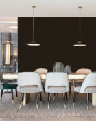 Little Greene Wandfarbe Choclate Colour hochwertige Farbe Schlafzimmer Wohnzimmer Esszimmer