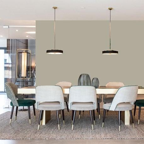 Little Greene Wandfarbe Cool Arbour hochwertige Farbe Schlafzimmer Wohnzimmer Esszimmer