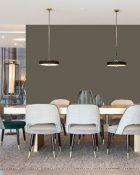 Little Greene Wandfarbe Gray Moss hochwertige Farbe Schlafzimmer Wohnzimmer Esszimmer