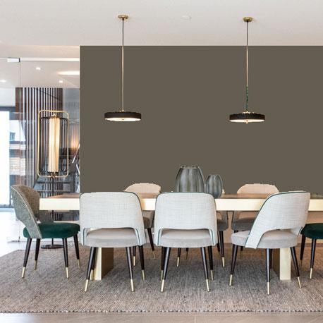 Little Greene Wandfarbe Gray Moss 234 hochwertige Farbe Schlafzimmer Wohnzimmer Esszimmer