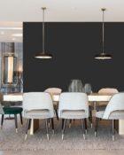 Little Greene Wandfarbe Lamp Black hochwertige Farbe Schlafzimmer Wohnzimmer Esszimmer