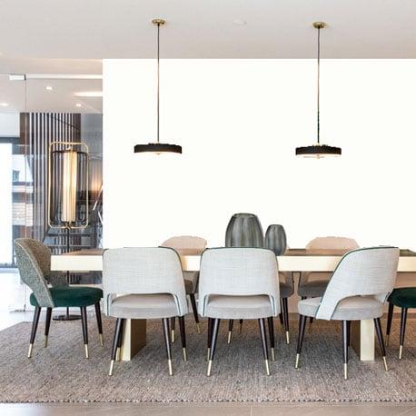 Little Greene Wandfarbe Loft White hochwertige Farbe Schlafzimmer Wohnzimmer Esszimmer