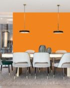 Little Greene Wandfarbe Marigold 209 Marigold Orange Wandfarbe Orange-Rot Wandfarbe