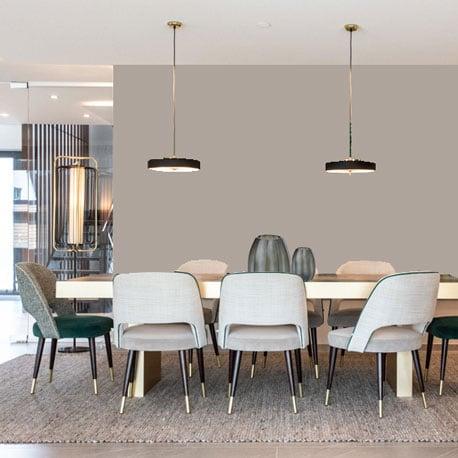 Little Greene Wandfarbe Perennial Gray hochwertige Farbe Schlafzimmer Wohnzimmer Esszimmer