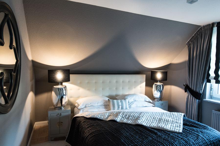 Schlafzimmer Einrichten In Grau Schwarz Einrichtungsideen Hoate