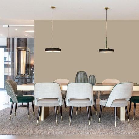 Little Greene Wandfarbe True Taupe hochwertige Farbe Schlafzimmer Wohnzimmer Esszimmer