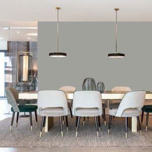 Little Greene Wandfarbe Urban Gray hochwertige Farbe Schlafzimmer Wohnzimmer Esszimmer