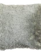Nobilis Fellkissen Koala Grau Kunstfell Weich Grau Kissen