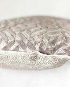 Designers Guild Kissen Dufrene Quartz Taupe Rechteck Muster