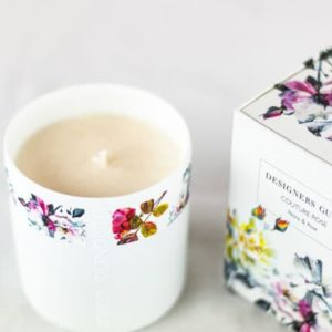 Designers Guild Duftkerze Couture Rosen- & Pfingstrosenblüten Blumen Pflanzen