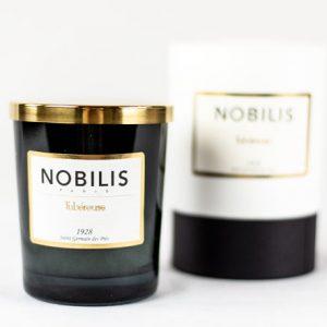 KNobilis Duftkerze Tubereuse Imperiale Moschus & Sandelholz erze Duft Candle Schwarz Gold
