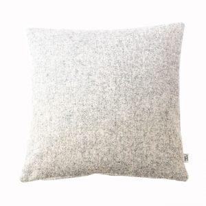 HOATÉ Kissen Melton Hellgrau Struktur Cushion Meliert