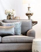 Kissen Sofa Wohnung Vasen Lampe