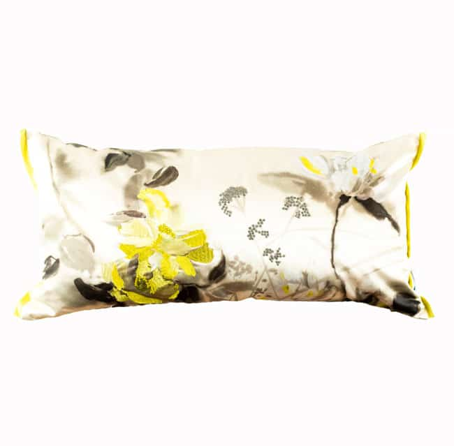 Designers Guild Kissen Lisse Cushion Buttermilk Gelb