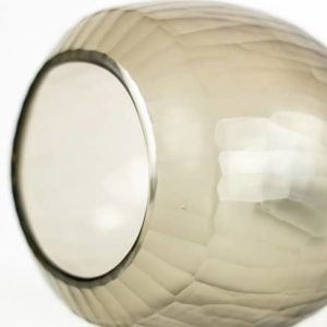 Grau Teelicht Vase Smokegrey