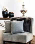 Kissen Sessel Lampe Wohnung Vasen