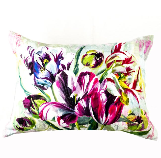 Designers Guild Kissen Tulipa Stellata Fuchsia Lila