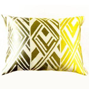 Designers Guild Kissen Valbonella Alchemilla Gelb geometrsiches muster