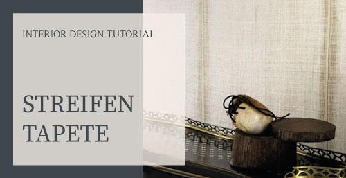 Blog Streifentapete Räume größer wirken lassen Wandgestaltung Raumwirkung Interior Design