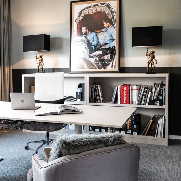 Interior Design Büro Affenbüro Affenmotiv Büro Gestaltung Inspiration