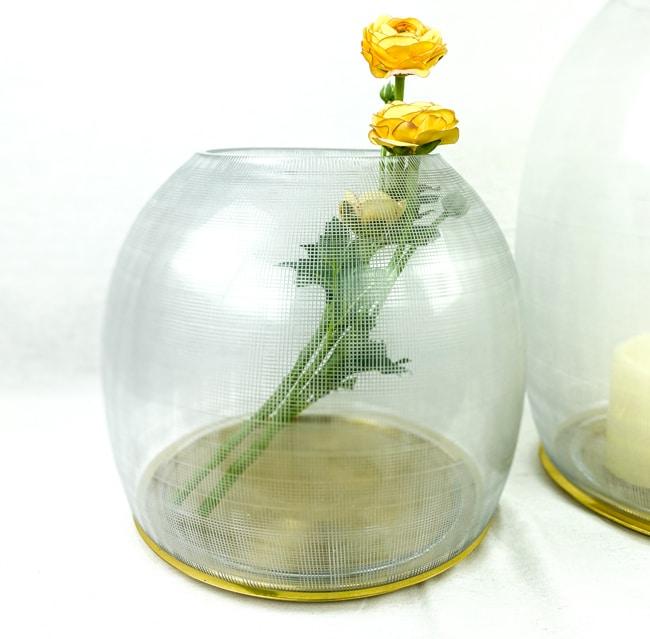 Guaxs Windlicht Gumba Lantern Glasvase hochwertiges Unikat