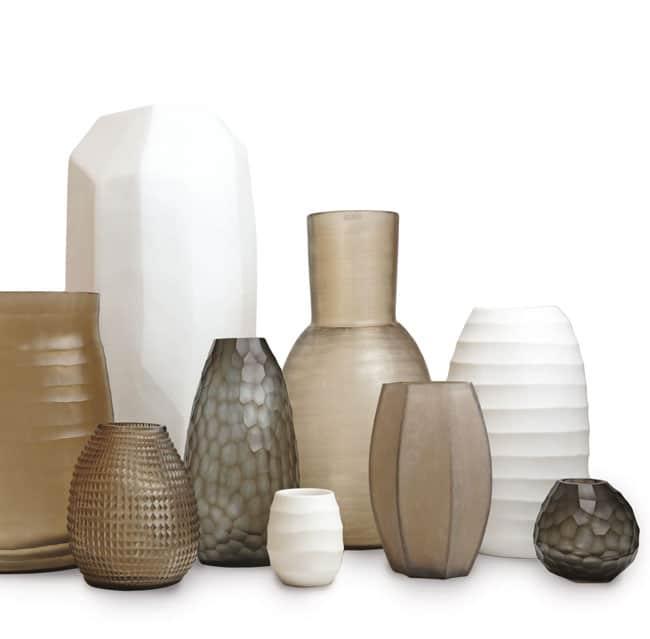 Guaxs Vasen Teelichthalter Indigo Smokegrey Design Vasen hochwertige Unikate