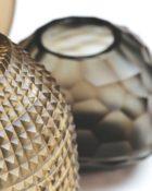 Guaxs Vase Smokegrey Design Vasen Glasvasen hochwertiges Unikat