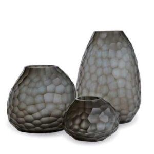 Guaxs Vase Otavalo Indigo Smokegrey Design Vasen hochwertiges Unikat