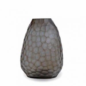 Guaxs Vase Otavalo Tall Indigo Smokegrey Glasvase Design Vase hochwertiges Unikat