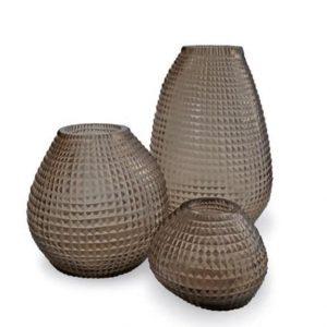 Guaxs Vase Otavalo Tall Small Round Glasvase Handgemacht hochwertige Unikate