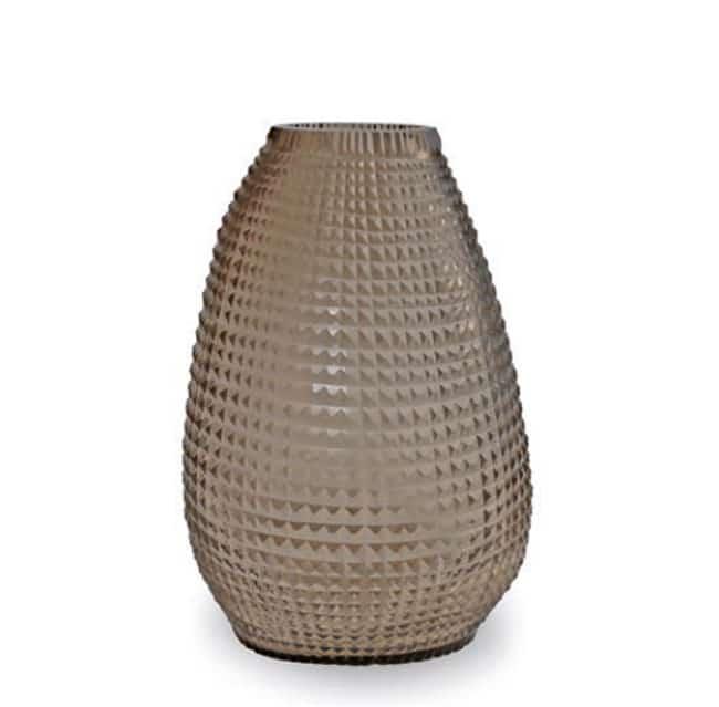 Guaxs Vase Otavalo Tall Grau Smokegrey Glasvase Vase Smokegrey hochwertiges Unikat