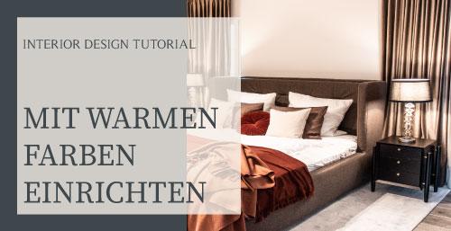 Mit warmen Farben einrichten Einrichtungsideen Warme Farben Interior Design Inspiration Warme Einrichtung