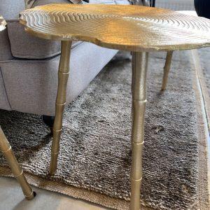 Richmond Interiors Beistelltisch Elana Bestelltisch gold Wohnzimmertisch Couchtisch