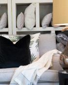Designers Guild Deko Kissen Couchdeko Kissenguide mit Kissen dekorieren Kissen richtig arrangieren Dekokissen für Couch und Bett Sofa mit Kissen dekorieren