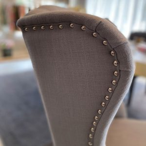 Richmond Interiors Stuhl Daisy grau Haken Esstisch Stuhl Essstuhl Esszimmerstuhl