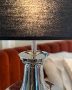 Richmond Interiors Leuchte Hawaii Beleuchtung moderne Lampe Chrom silber schwarz