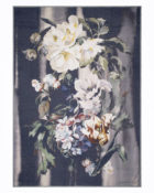 Designers Guild Decke Delft Flower Noir Tagesdecke Dekodecke Weich Gemütlich