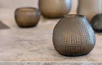 Guraxs Vase Otavalo smokegray Design Dekoration