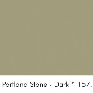 Little Greene Wandfarbe Portland Stone Dark kalte Farbe grüngrau hochwertige Farbe Schlafzimmer Wohnzimmer Esszimmer
