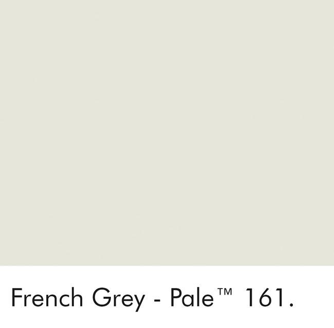 Little Greene Wandfarbe French Gray Pale kalte Farbe hellgrau hochwertige Farbe Schlafzimmer Wohnzimmer Esszimmer