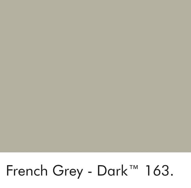 Little Greene Wandfarbe French Gray Dark kalte Farbe grau hochwertige Farbe Schlafzimmer Wohnzimmer Esszimmer