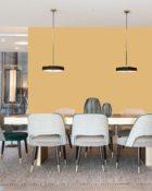 Little Greene Wandfarbe Mortlake Yellow 265 Orange Gelb Wandfarbe Wandfarbe Ocker Wandfarbe Schlafzimmer