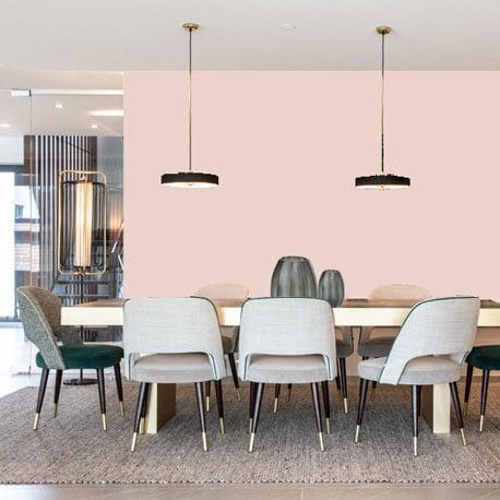 Freundliche Wandfarbe Rosé Gedecktes Rosé Wandfarbe Kühles Rosa WandfarbeLittle Greene Wandfarbe Pink Slip 220