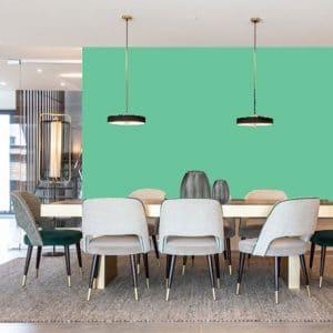 Little Greene Wandfarbe Green Verditer 92 Knallige Wandfarben Kräftiger Mintton Wandfarbe Leuchtende Wandfarben
